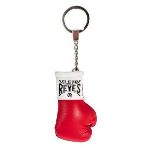 Llavero con guante en miniatura, rojo