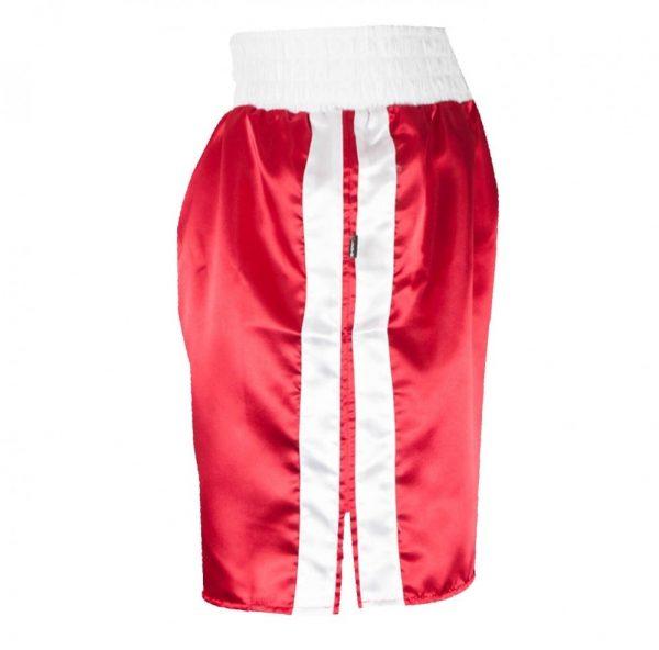 Pantalones cortos de boxeo rojos