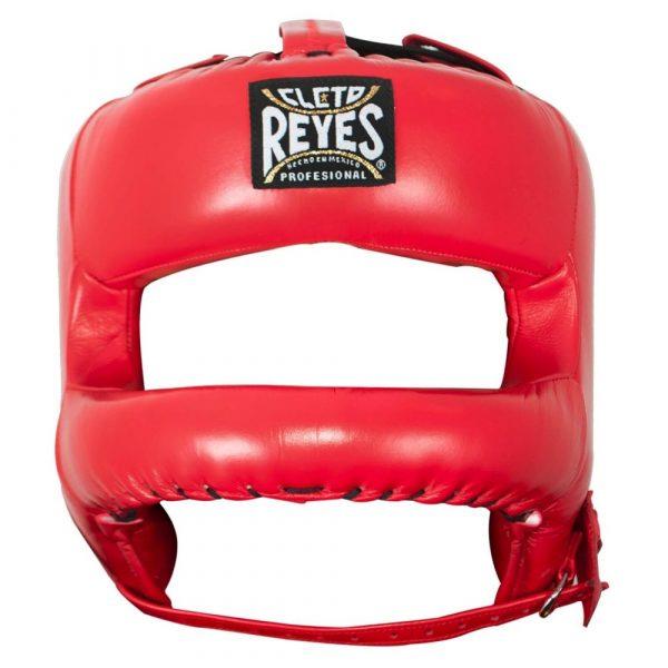 Protector de cabeza barra nylon 100% auténtica piel, rojoProtector de cabeza barra nylon 100% auténtica piel, rojo