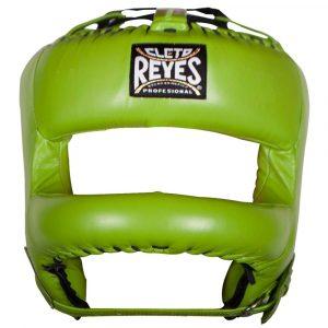 Protector de cabeza barra nylon 100% auténtica piel, verde limón