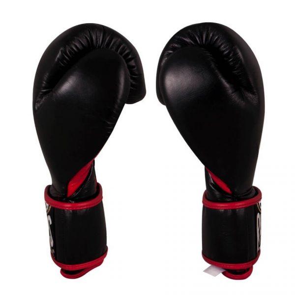 Guantes de entrenamiento de boxeo negros