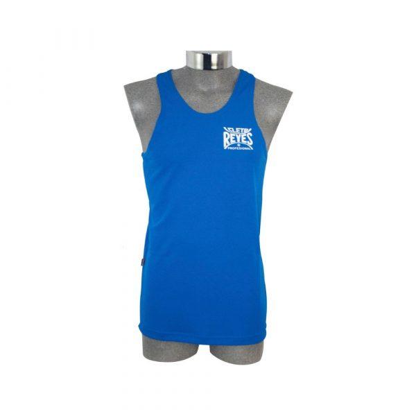 Camiseta olímpica de poliester, azul