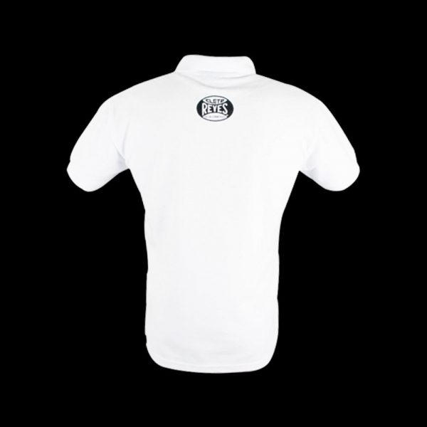 Camiseta tipo polo blanco