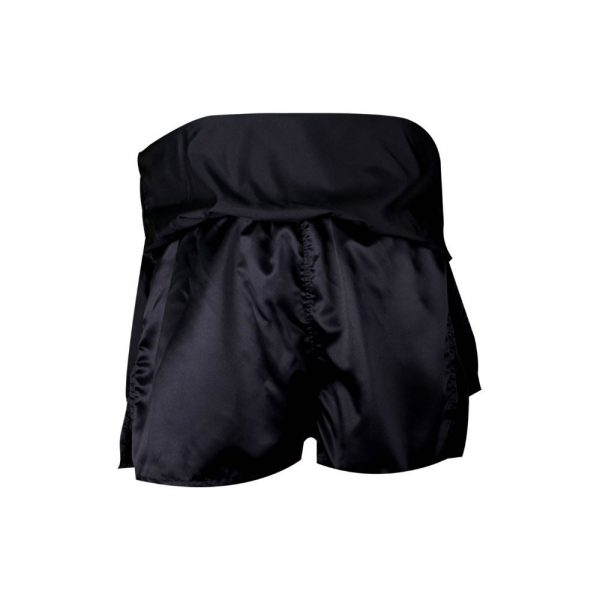 Falda short para chica, negro