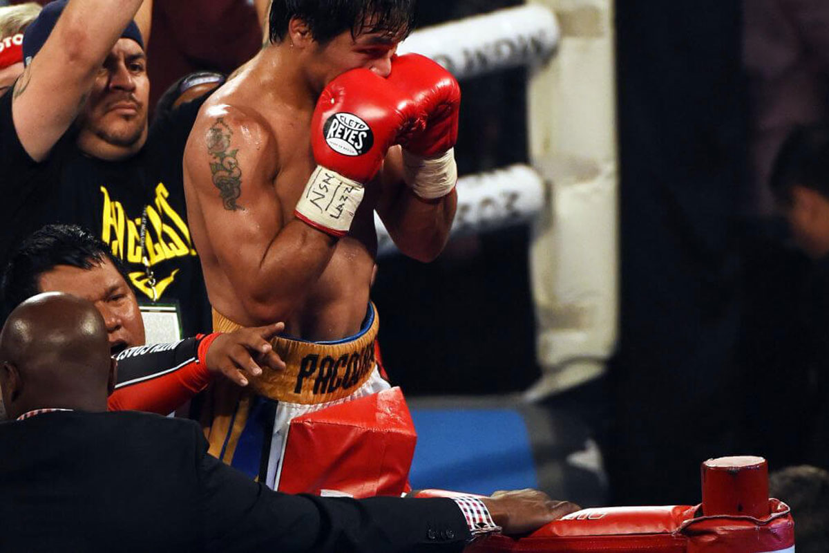 Guantes Cleto Reyes Manny Pacquiao
