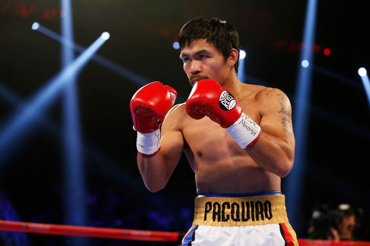 Manny Pacquiao Cleto Reyes
